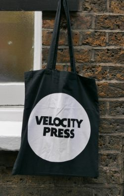 Velocity Press tote bag