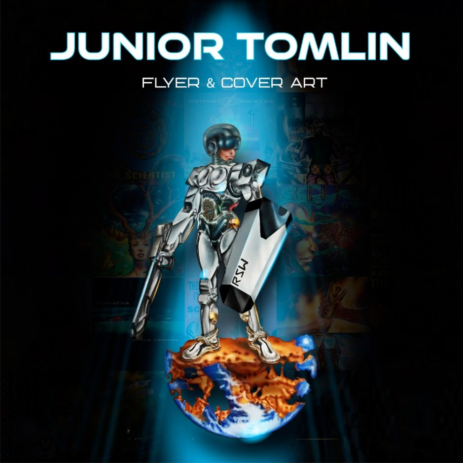 Junior Tomlin Flyer & Cover Art book