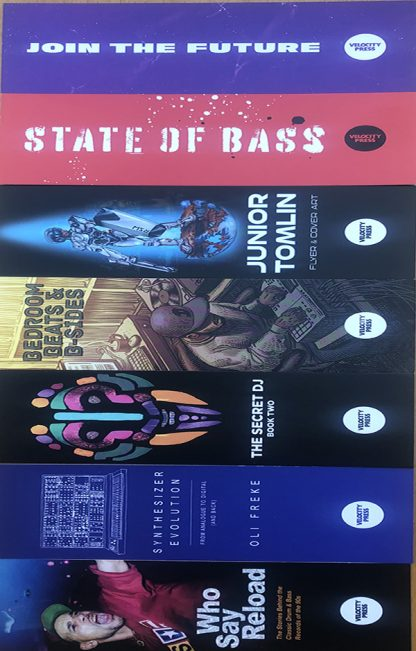 Velocity Press bookmarks