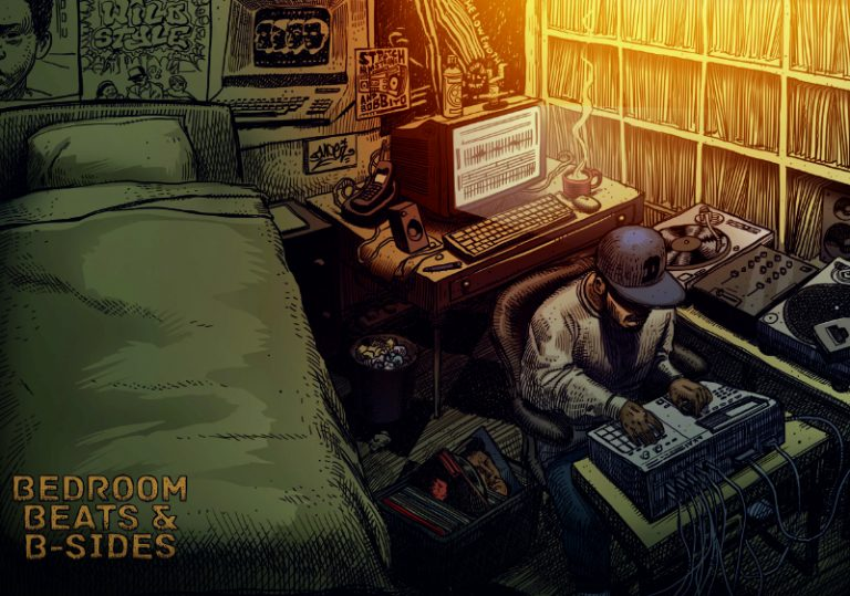 Bedroom Beats & B-sides book cover poster