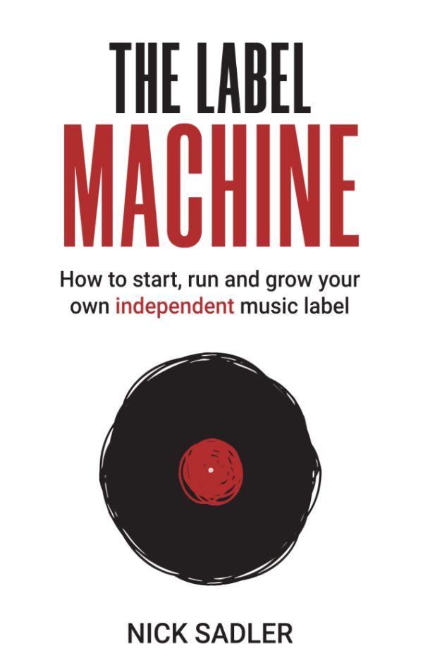 The Label Machine book cover