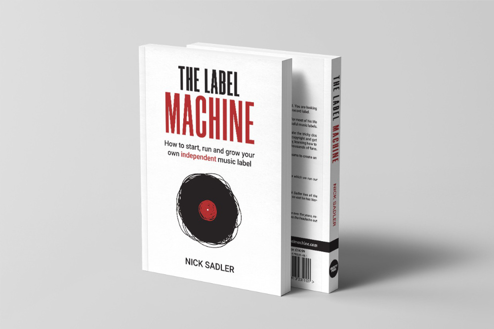 Writing The Label Machine book